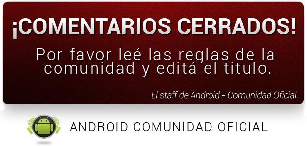 (Aporte) Karaoke y Letras en Android.