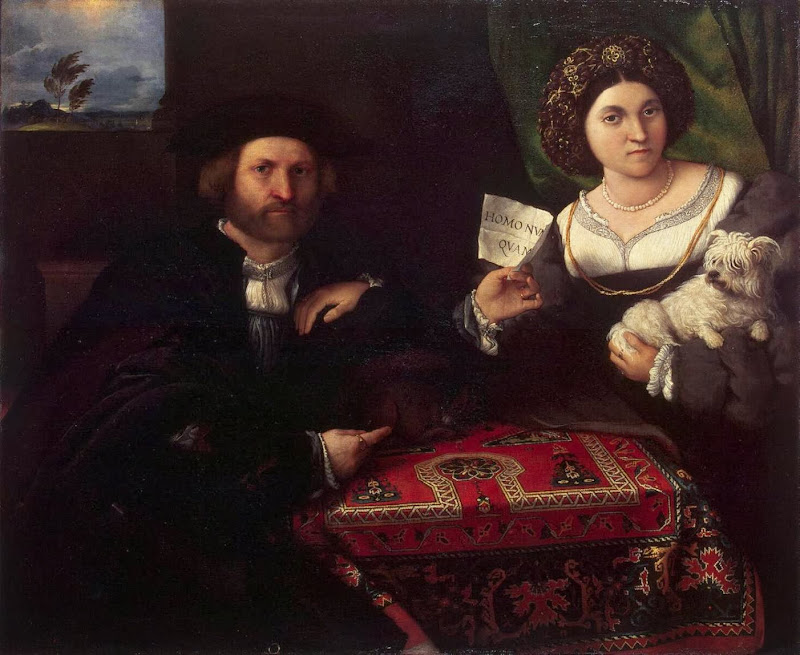Lorenzo Lotto - Husband and Wife