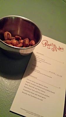 Pépé Le Moko Food Menu- snacks