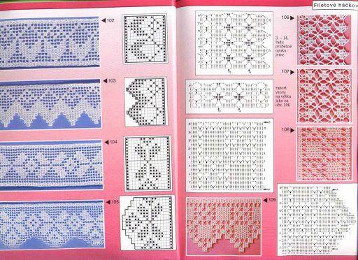 Puntillas a crochet picasa - Imagui