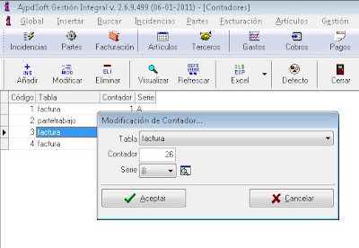 Contadores - AjpdSoft Gestión Integral