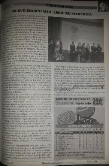 LRE NO MARCHITA - Publicación