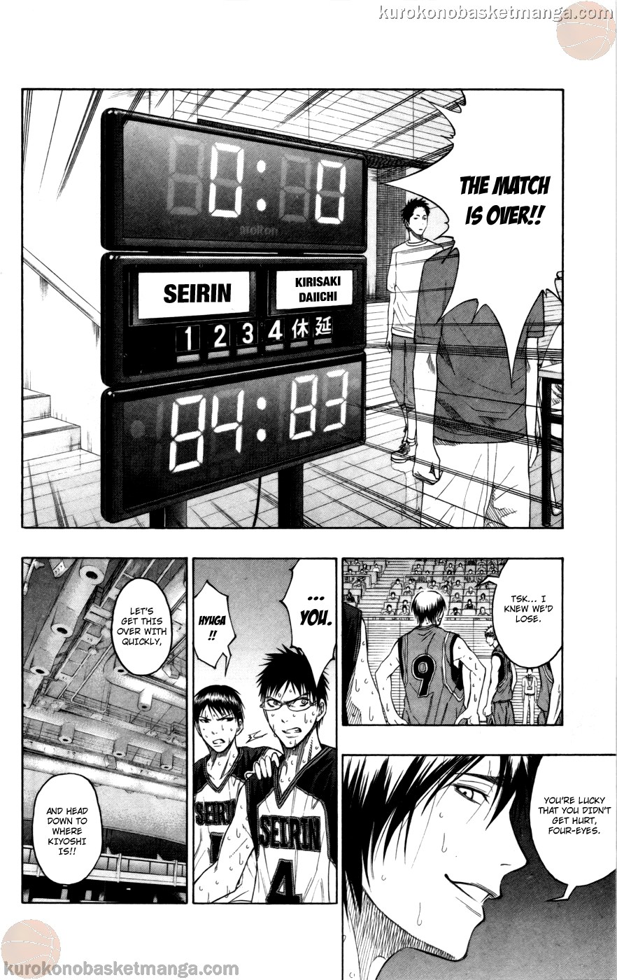 Kuroko no Basket Manga Chapter 99 - Image 11