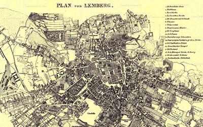 Старые карты Львова