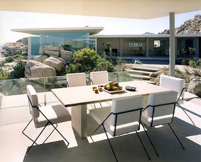 Casa Finisterra 5 Rumah Minimalis Indah Di Tebing Batu