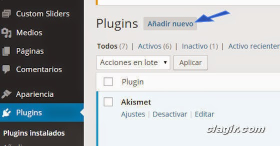 WordPress y como crear un blog