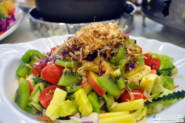 花壇公雞餐廳和風鮮果沙拉