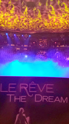 There is not a bad seat in the house at the Wynn Theater, home of Le Reve, The Dream