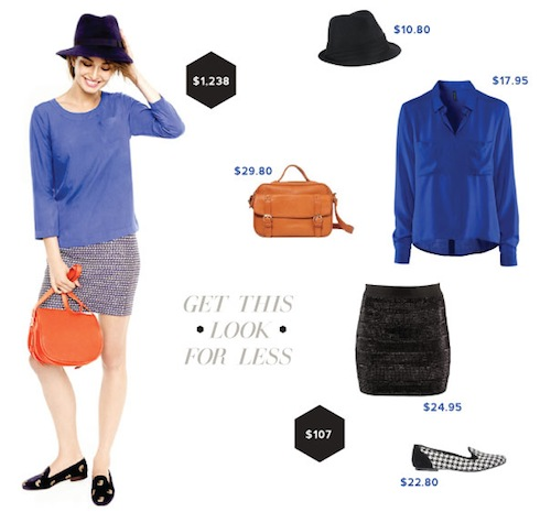 Look For Less: Black & Blue