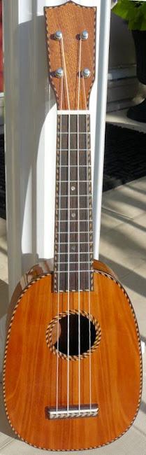 Samwill mahogany pineapple soprano at Lardy's Ukulele Database