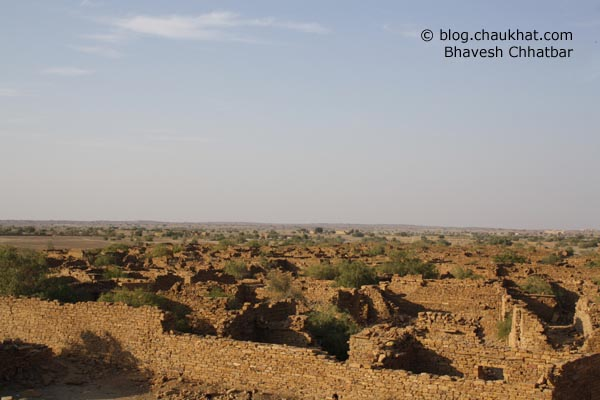 Kuldhara Village in Jaisalmer - Scene of Ruins