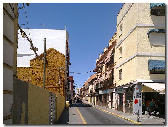 Calle Santa María Magdalena.