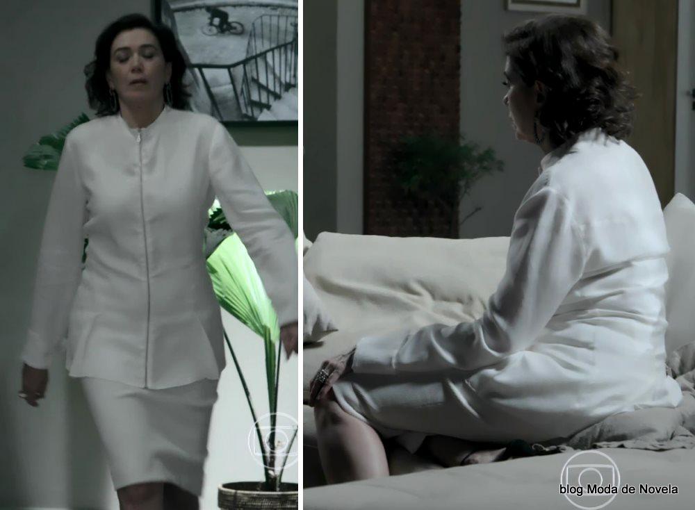 moda da novela Império, look da Maria Marta dia 31 de outubro