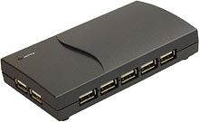 USB 2.0 Hub 13 Port Powered with Power Supply K13