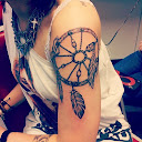 dreamcatcher tattoos on arm 3