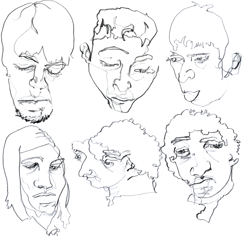 Blind Contour Line Drawing Definition my Blind Contour Drawings
