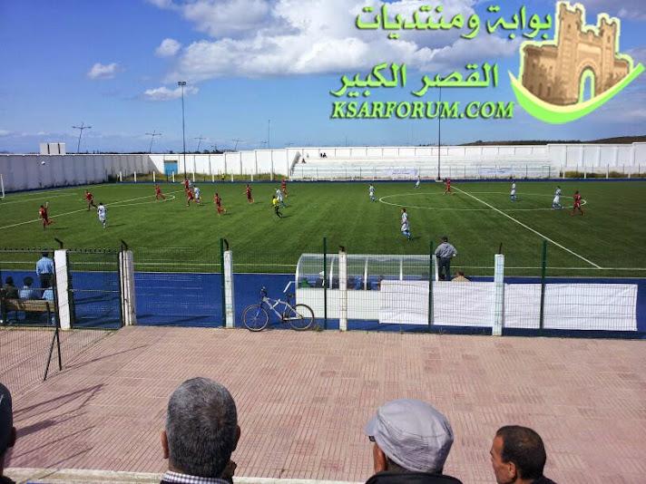 النادي الرياضي القصري يحقق فوز خارج الميدان ضد فريق نهضة مارتيل بهدف لصفر