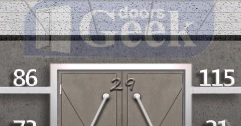 100 Doors Level 24 Walkthrough Doors Geek
