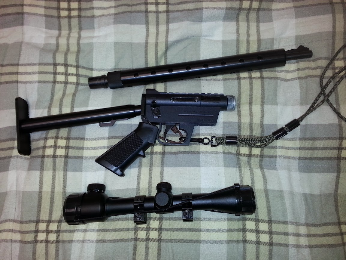 AR-7 Disassembled