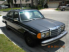 1984 Mercedes 300d-turbodiesel, 4 door sedan