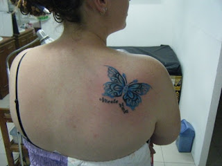 butterfly tattoo for girl