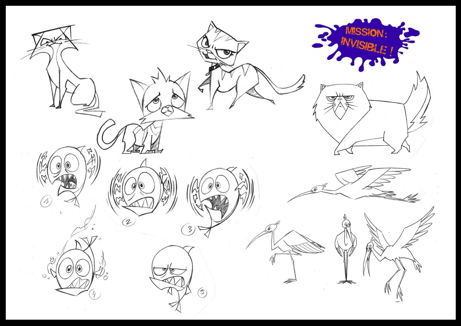 Character design sur la s rie mission invisible chez samka productions - Mission invisible ...