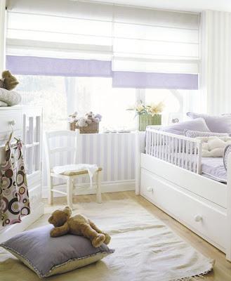 Cuartos decoraci n del dormitorio del bebe en color blanco - Vtv muebles infantiles ...