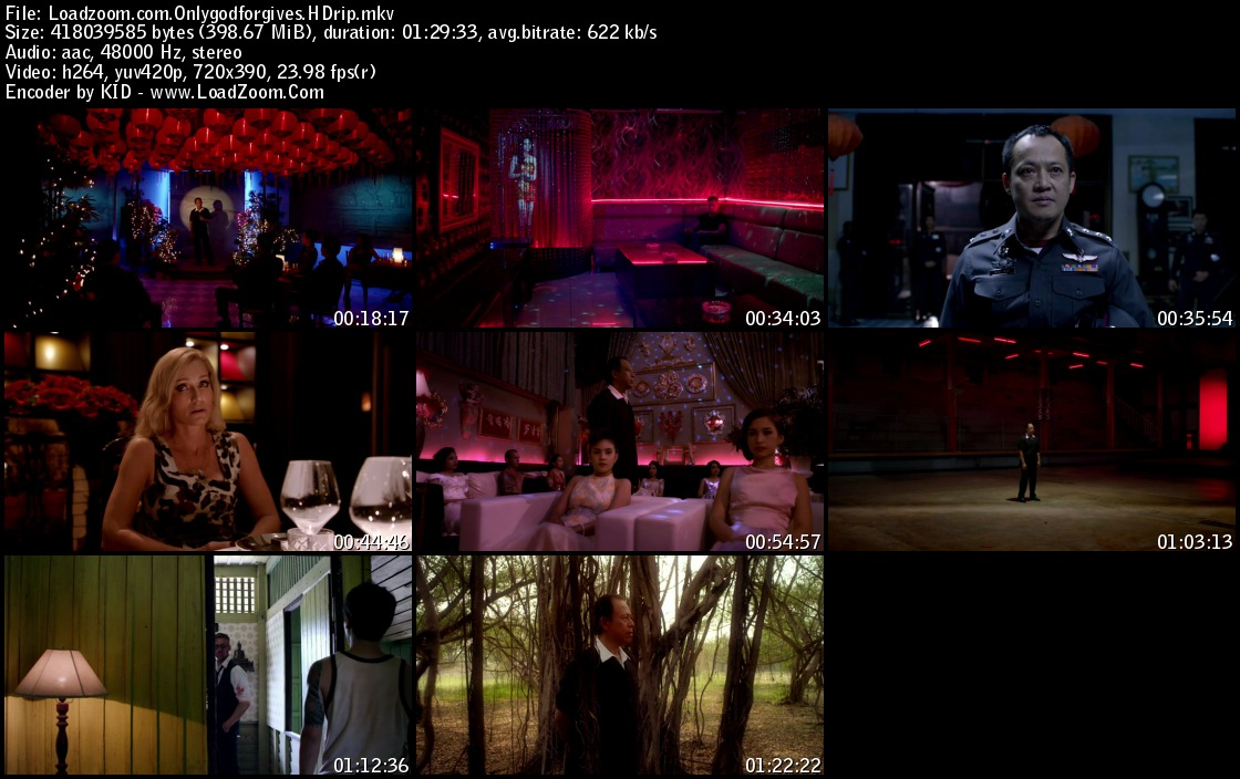 movie screenshot of Only God Forgives fdmovie.com