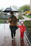 Warszawa przywitała nas deszczowo