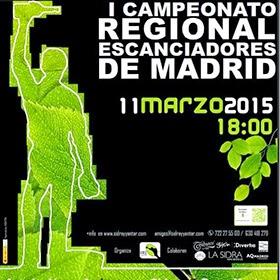 I Campeonato Regional de Escanciadores de Sidra , 11 de marzo 2015