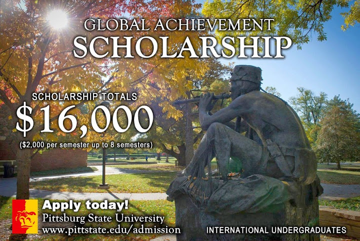 Global Achievement Scholarship – Pittsburg State University