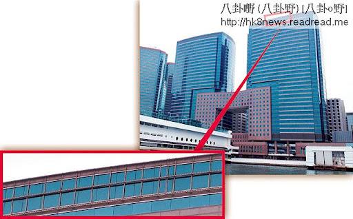 劉華就是住在高層最大單位,面向維港無敵海景,外面完全望唔到室內情況。