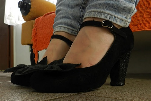 As Blogueiras Customizam - Lusco Fusco - sapato customizado