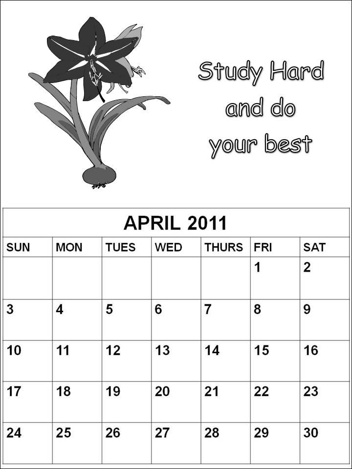 2011 april calendars. calendars 2011 april.