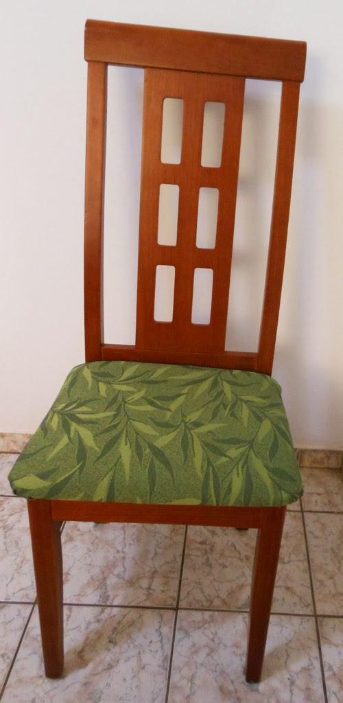 como reformar as cadeiras da sala de jantar