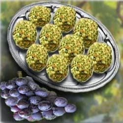 Рецепт приготовления закуска из винограда