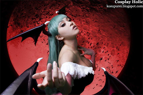 darkstalkers cosplay - morrigan aensland