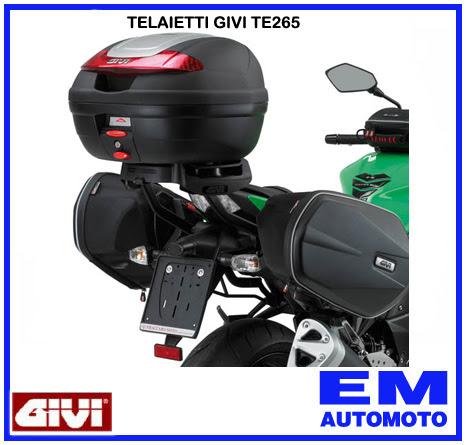 GIVI TELAIETTI EASYLOCK DISTANZIATORI BORSE LATERALI TE3100 SUZUKI GSR 750 2011