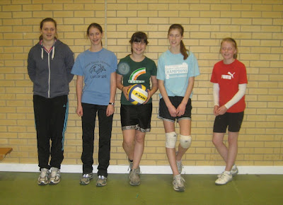 York Under 15 Girl's Team Iona, Grace, Eliza, Maria & Fiona  (Missing Flynn)