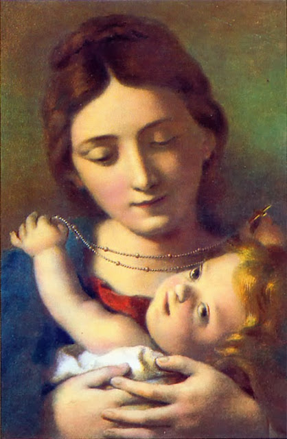 Carlo Cignani - Madonna of the Rosary