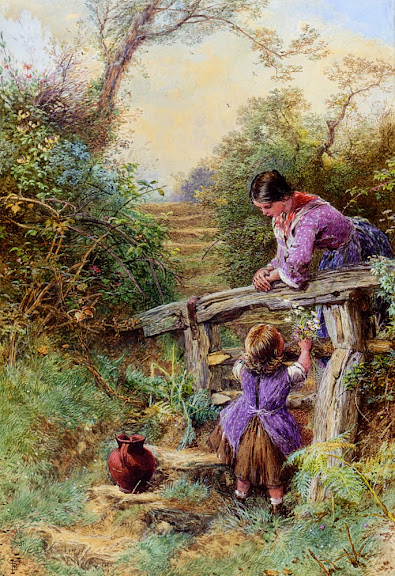 Myles Birket Foster - The Stile