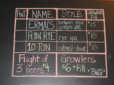 Warped Wing Brewing Company Ermal's Flyin' Rye 10 Ton
