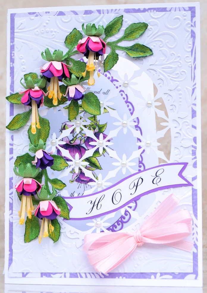 Fuschia Card