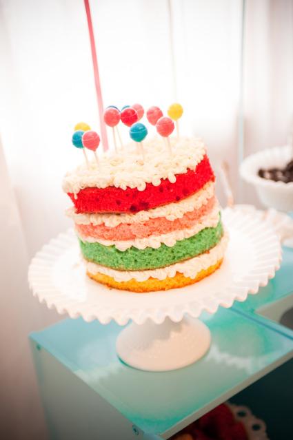 Tortas decoradas con bombones for Tortas decoradas faciles