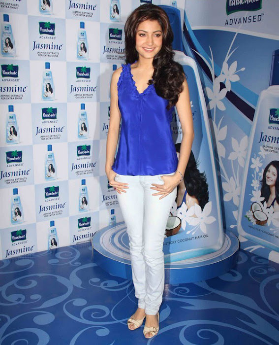 anushka sharma launches parachute jasmine hair oil photo gallery