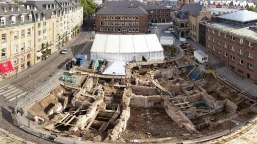 700 Year Old Synagogue Unearthed In Cologne
