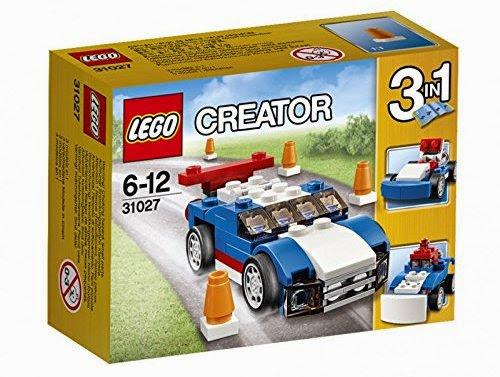 Đồ chơi Lego Creator 31027 Xe đua xanh Blue Racer được làm từ chất liệu đặc biệt an toàn