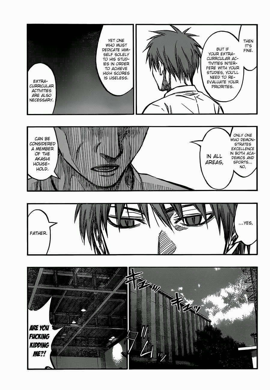 Kuroko no Basket Manga Chapter 220 - Image 09