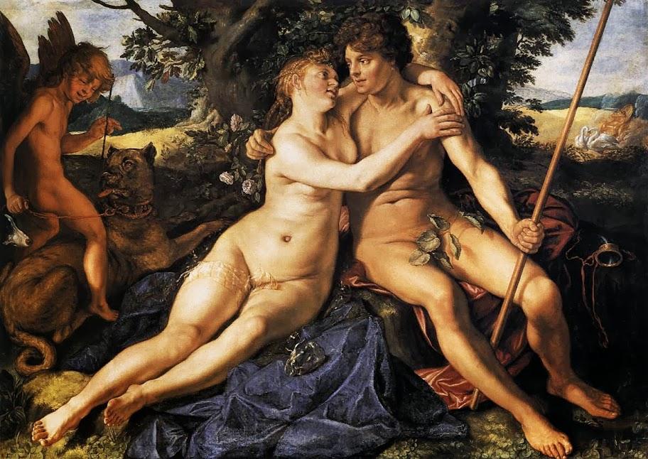 Hendrick Goltzius - Venus and Adonis