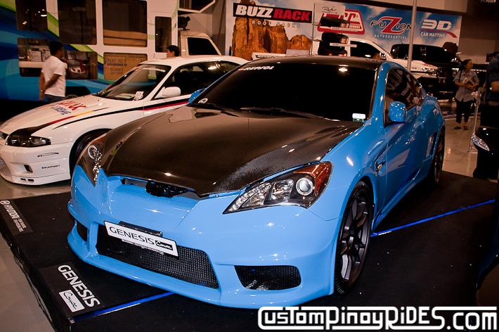 Hyundai Genesis Coupe Body Kit Designs by Atoy Customs 2012 Manila Auto Salon Custom Pinoy Rides pic25